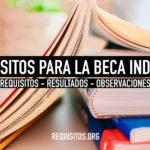 Requisitos para obtener y renovar la beca indígena