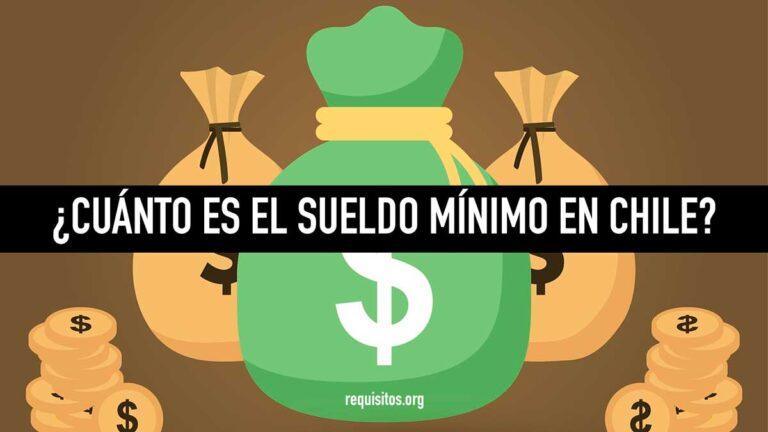 Cuánto es el sueldo mínimo en Chile este año