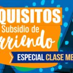 Requisitos subsidio de arriendo clase media